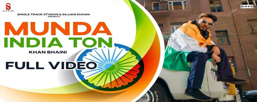 Munda India Ton Song Khan Bhaini