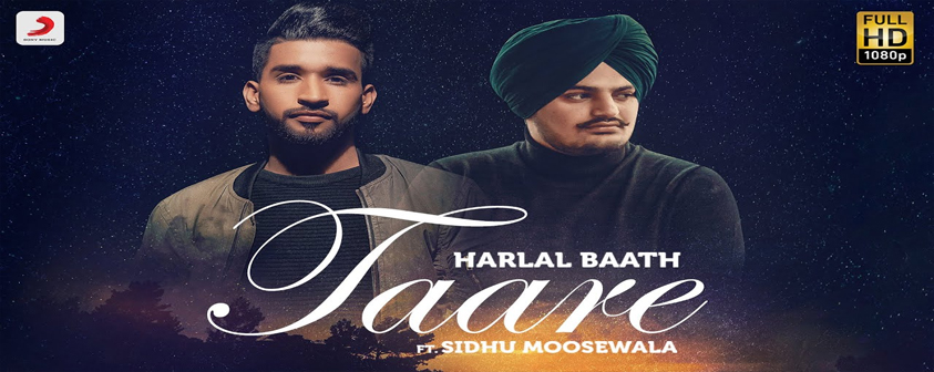 Taare Song Harlal Batth & Sidhu Moosewala