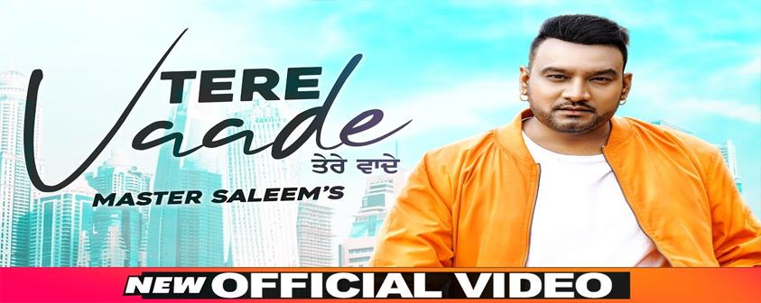 Tere Vaade song Master Saleem