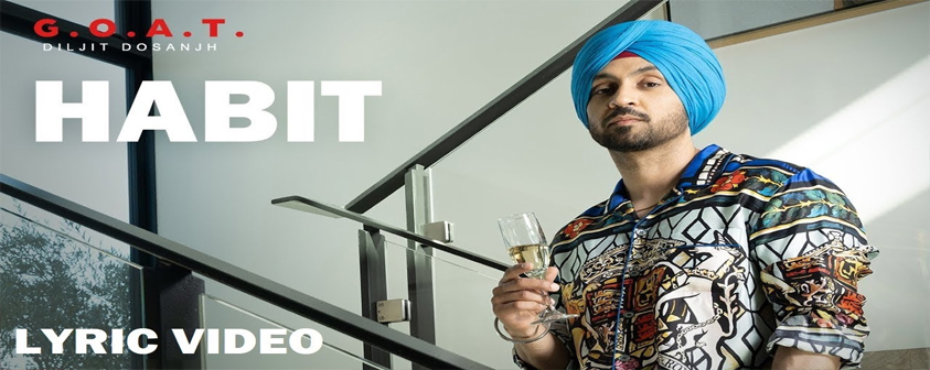 Habit song Diljit Dosanjh